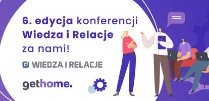 Mieliśmy ogromną przyjemność już drugi raz wystąpić w roli partnera konferencji Wiedza i Relacje w Jastrzębiej Górze. W wydarzeniu wzięło udział prawie 120 profesjonalistów rynku nieruchomości z całej Polski. W tym roku uczestnicy otrzymali od nas wyjątkowe fioletowe prezenty. Dowiedzcie się więcej!