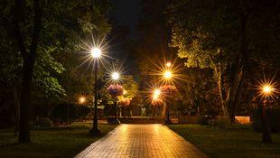 Oświetlenie parków i ogrodów