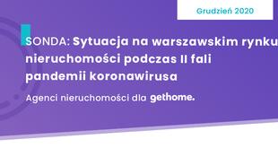 Warszawski rynek nieruchomości - II fali pandemii